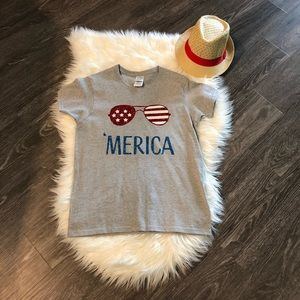 'Merica tee! perfect for the 4th of July🇺🇸🎆